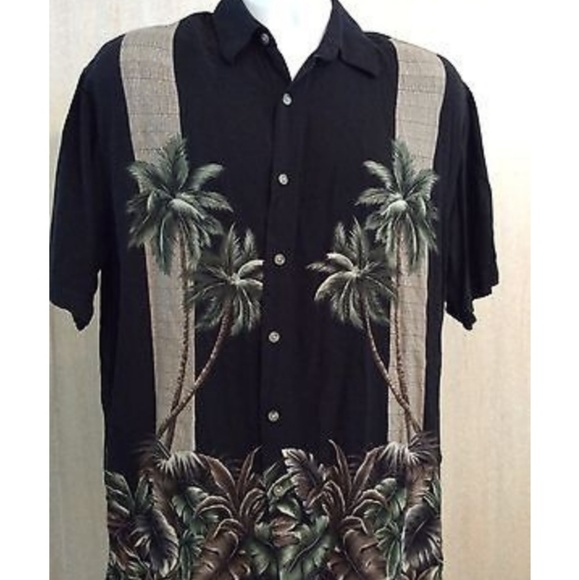 71e3abe9e Hollis River Shirts | Mens Hawaiian Print Button Down Shirt | Poshmark